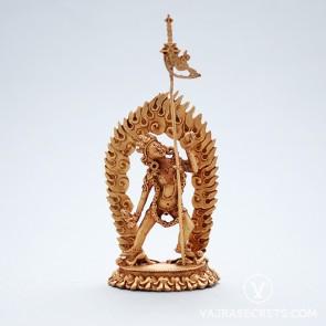 Vajrayogini (Naro Kacho) Gold Statue, 3.5 inches