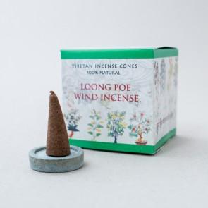 Loong Poe Wind Tibetan Incense Cones