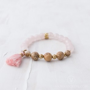 Grounded Love Mala Bracelet (Semi-Blessed)