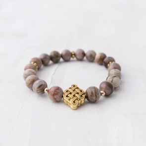 Infinite Wisdom Mala Bracelet (Semi-Blessed)