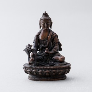 Medicine Buddha Copper Statue, 2 inches