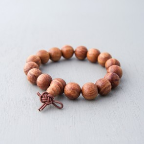 Blessed 12mm African Rosewood Mala Bracelet