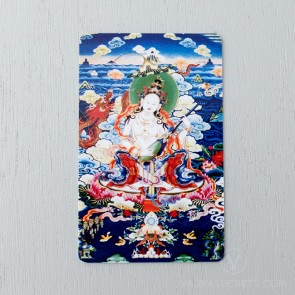 Saraswati Card - Tsem Rinpoche Collection