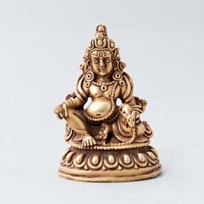 Dzambala Gold Statue, 2 inches