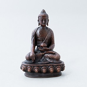 Shakyamuni Copper Statue, 3 inches