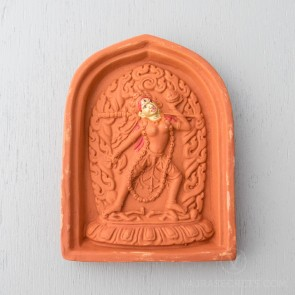 Vajrayogini Clay Tsa Tsa with Gold Face