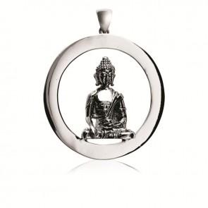 Shakyamuni Emptiness Round Pendant