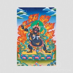 Black Manjushri Thangka