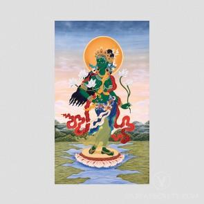Standing Tara Thangka