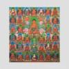 35 Confessional Buddhas Thangka