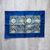 Tibetan Brocade Table Cover, Blue (Medium)