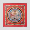 Red Kalachakra Mandala Thangka, Small