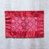 Tibetan Brocade Table Cover, Maroon (Small)