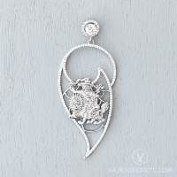 Limited Edition Dorje Shugden Pendant with Cubic Zirconia