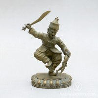 Ten Wrathful Attendants: Nepali, 4 inches