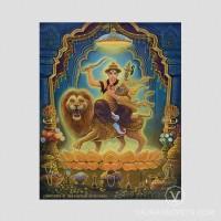 Dorje Shugden Indian Digital Art