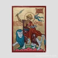 Dorje Shugden Traditional Byzantine Art