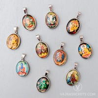 Glass Dome Oval Pendant Collection (Set of 10)
