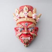Kache Marpo Wooden Mask