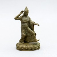 Eight Guiding Monks: Gelong Jampa, 4 inches
